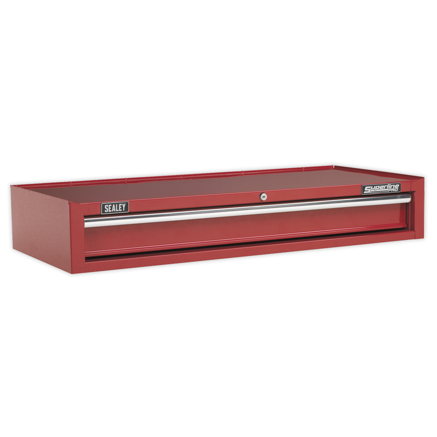 Add-On Chest 1 Drawer with Ball Bearing Runners Heavy-Duty- Red  (AHA)