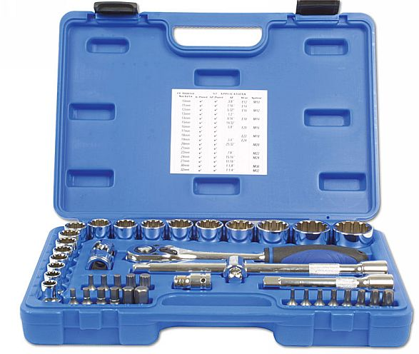 "Alldrive Socket Set 1/2""D 42pc  (AH)"