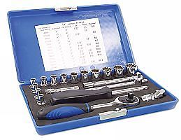 "Alldrive Socket Set 1/4""D 19pc  (AH)"