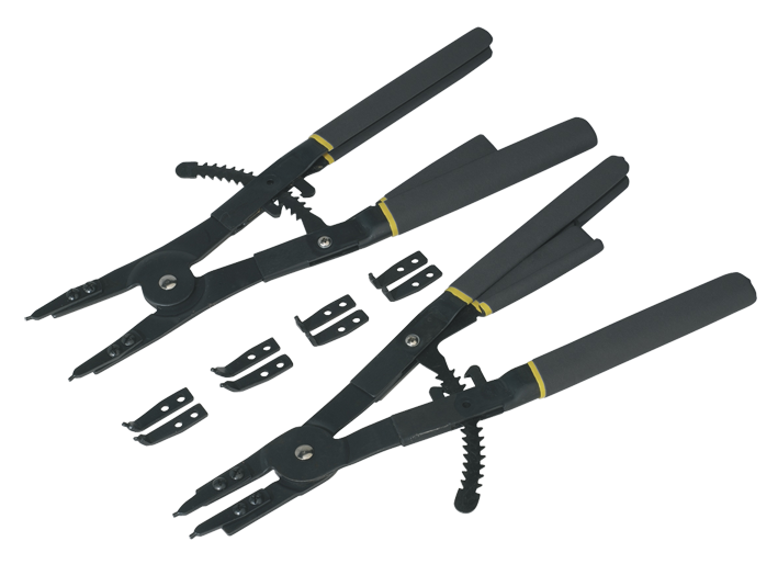 Circlip Pliers Set Internal/External 400mm   (AHA)