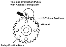 Crankshaft Locking Tool For VW - C157   [e]