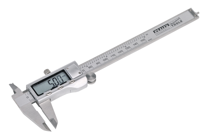 "Digital Vernier Calliper 0-150mm(0-6"") Stainless Steel (AH)"