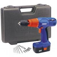 Draper 71366 18V C/Less Hammer Drill & Case (Old Version)  (AHA)