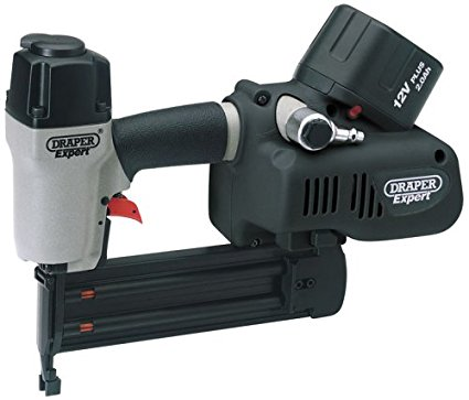 Draper Expert 69377 12V Cordless Air Nailer (black Version)  (AHA)