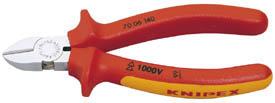 140MM FULLY INSULATED KNIPEX DIAGONAL SIDE CUTTER    (G)