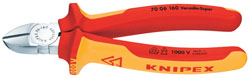 160MM FULLY INSULATED KNIPEX DIAGONAL SIDE CUTTER   (G)
