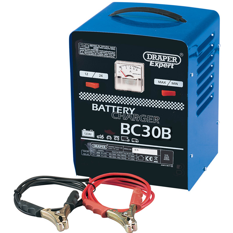Expert 12V/24V 20A Battery Charger   (AHA)