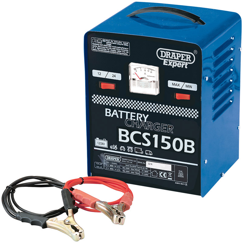 Expert 12V 135A Battery Starter/Charger   (AHA)
