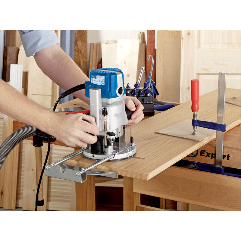 Expert 1350W 230V Combination Router Kit   (AHA)