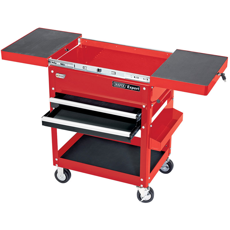 Expert 2 Drawer Tool Trolley - 910 x 560 x 1000mm    (AHA)