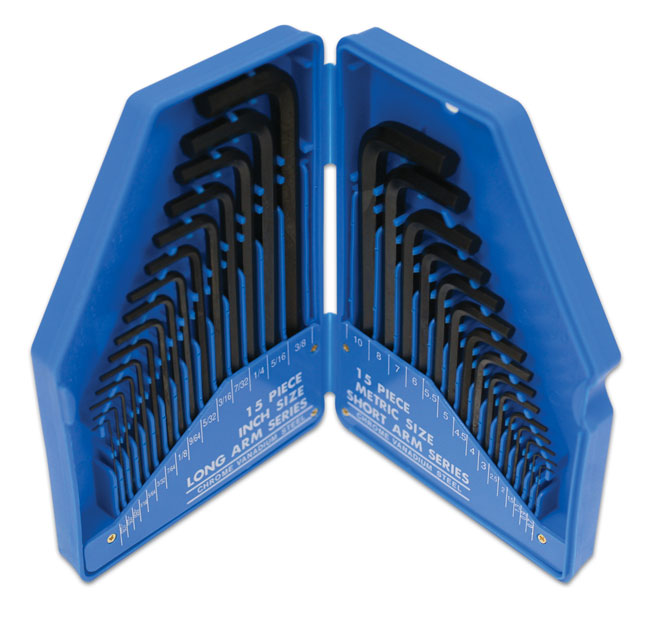 Hex Key Set 30pc   (ah)