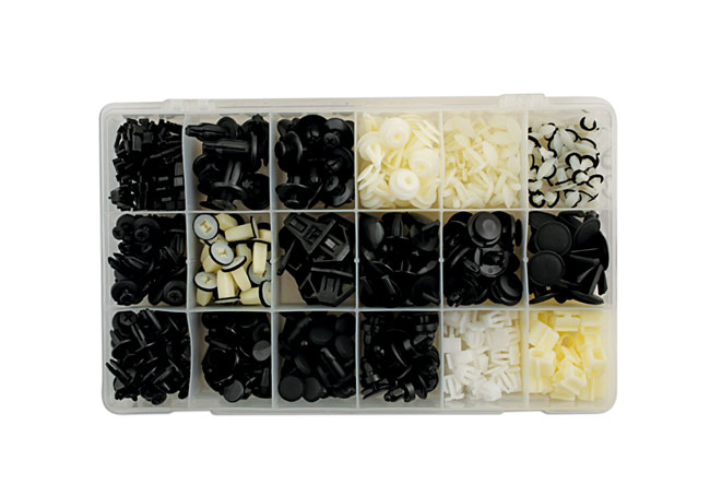 Honda Assorted Trim Clips 418pc  (AHA)