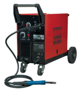Professional Gas/No-Gas MIG Welder 190Amp with Euro Torch  (AH)
