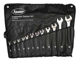 Spanner Set 12pc In A Tube