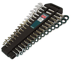 Spanner Set Ratchet Ring 16pc  (G)