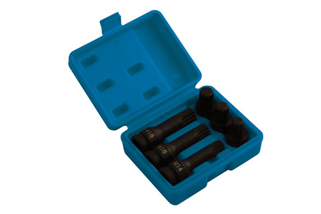 Spline Bit Set - 6pc    (AHCC)