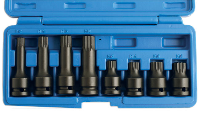 Spline Bit Set - 8pc    (AHCC)