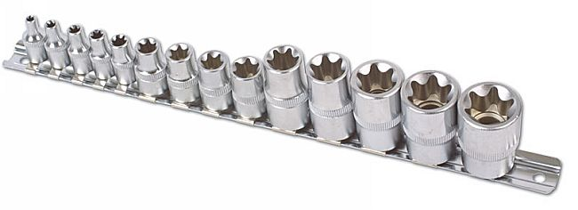 Star Socket Set 14pc    (AHA)