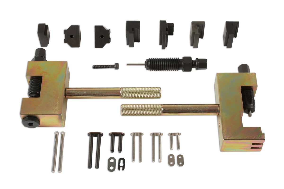 Timing chain splitting fitting tool kit ahc for Mercedes benz tools