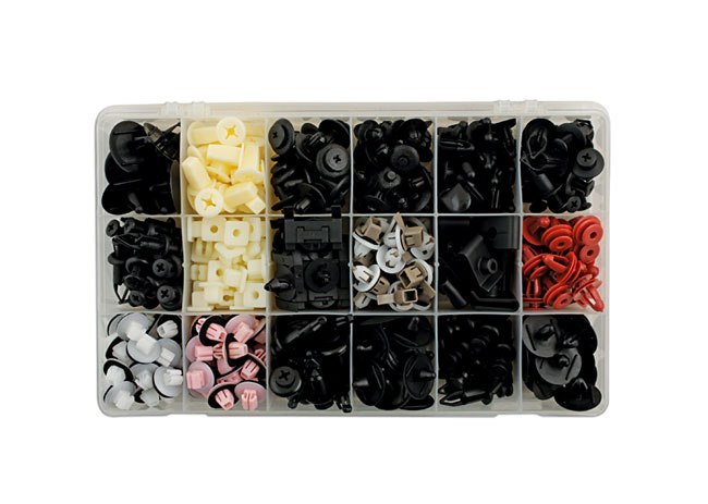 Toyota Lexus Assorted Trim Clips 360pc   (AHA)