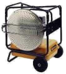 Wilms Infrared Oil mini val garage heater not  new   (e)