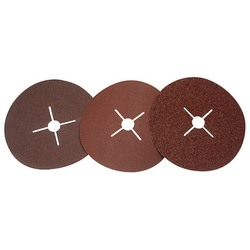 178mm 60Grit Aluminium Oxide Sanding Disc Pack of 5 (Ah)