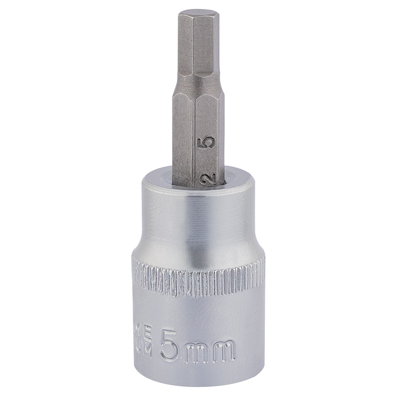 "3/8"" Square Drive Socket with Hexagonal Bit (5mm)      (AHA)"