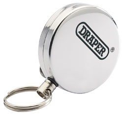 Description .......: RETRACTABLE KEY REEL S/STEEL 	(E)