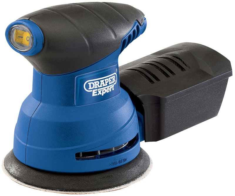 Expert 125mm 230W 230V Random Orbit Palm Sander  (AHA)