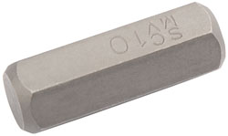 Description .......: 10MM HEX BIT 10MM HEX X 30MM 	   (G)
