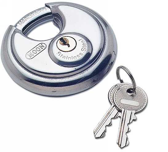 Padlock - Close shackle 70mm S/steel