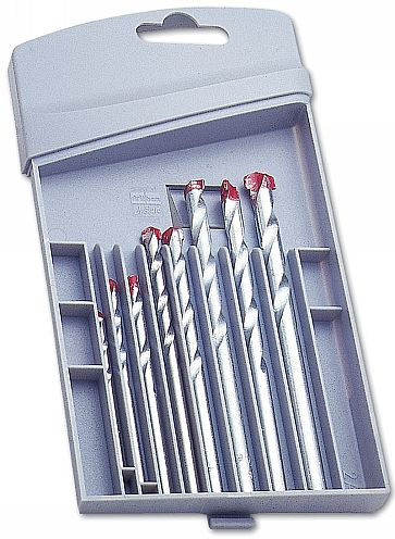 Drill Bit Set - Masonry 8pc