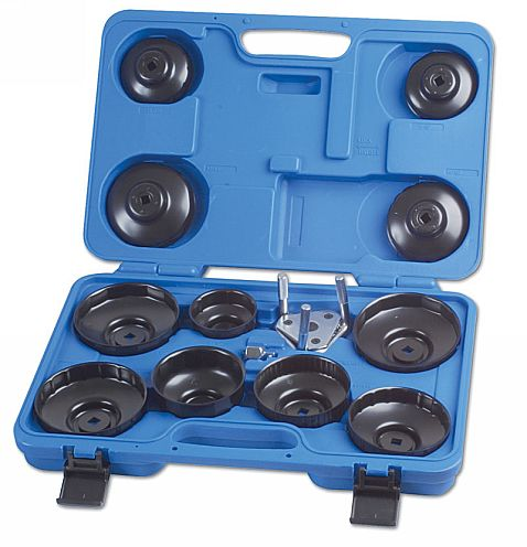 Oil Filter Wrench Set - Cup Type 13pc