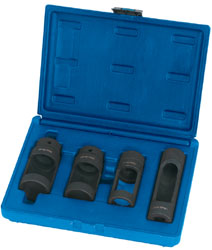 "EXPERT 4 PIECE 1/2"" Sq. Dr. DIESEL INJECTOR SOCKET SET"