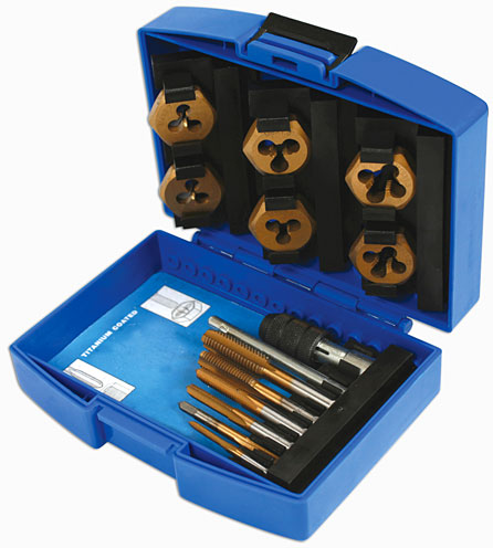 Tap and Die Set 13pc   (AHC)
