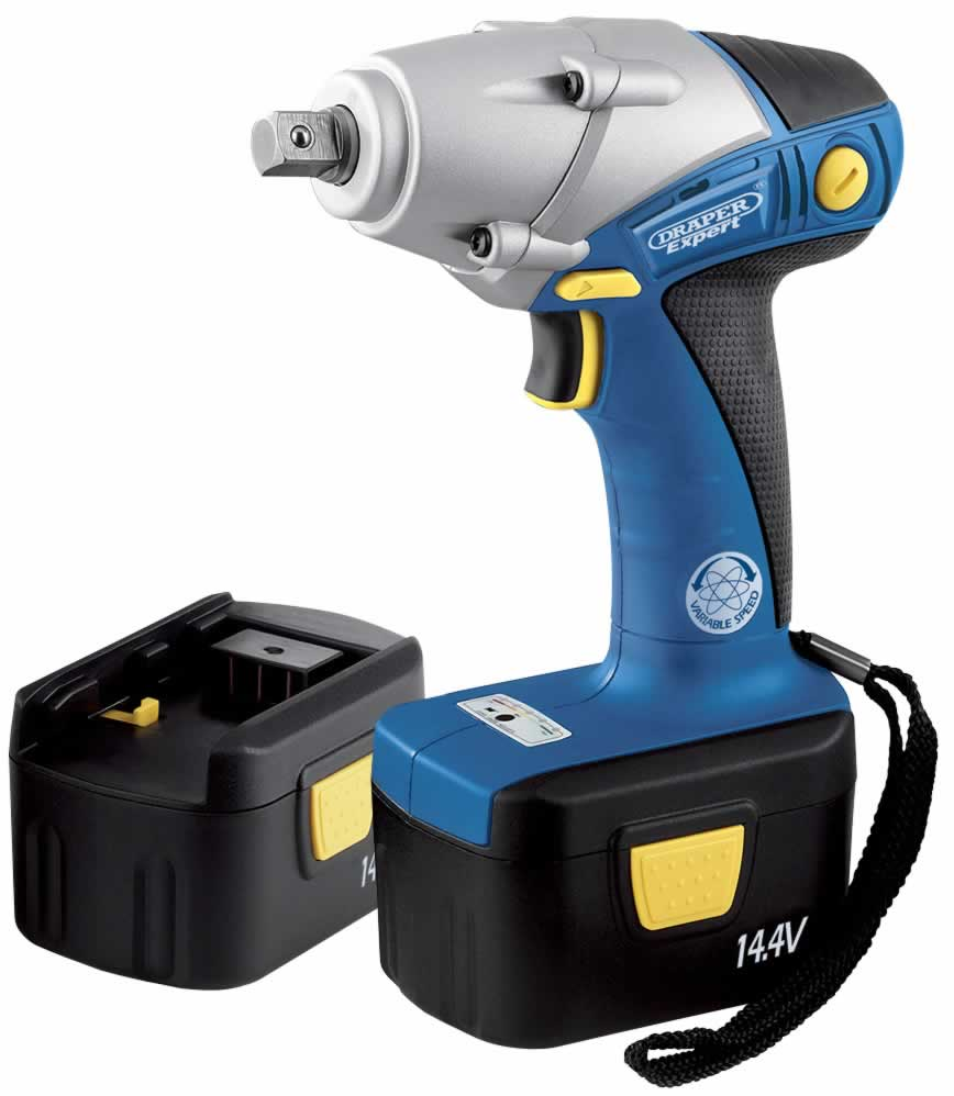 EXPERT 14.4V CORDLESS IMPACT WRENCH WITH TWO Ni-CD BATTERIES