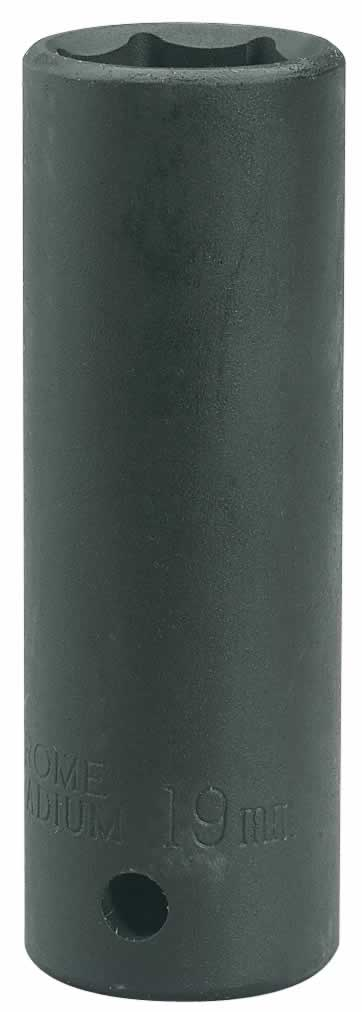 EXPERT 12MM 1/2 SQUARE DRIVE HI-TORQ HEXAGON DEEP IMPACT SOCKET""