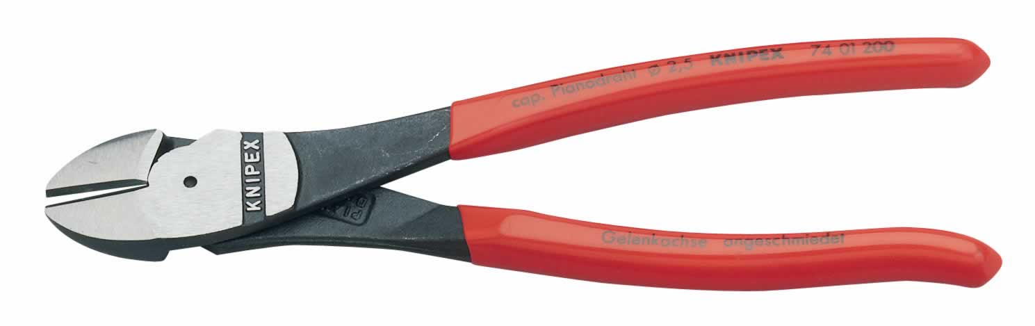 200MM KNIPEX HIGH LEVERAGE DIAGONAL SIDE CUTTER  (G)