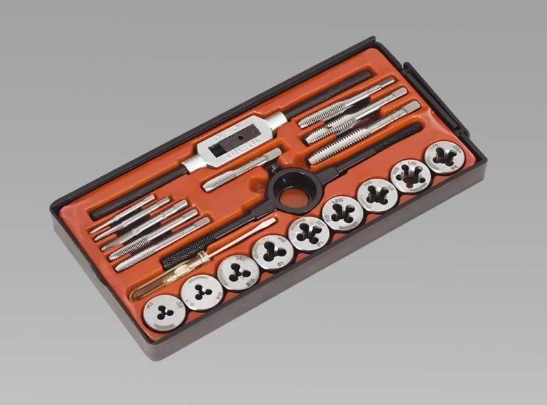 Tap & Die Set 21pc Metric