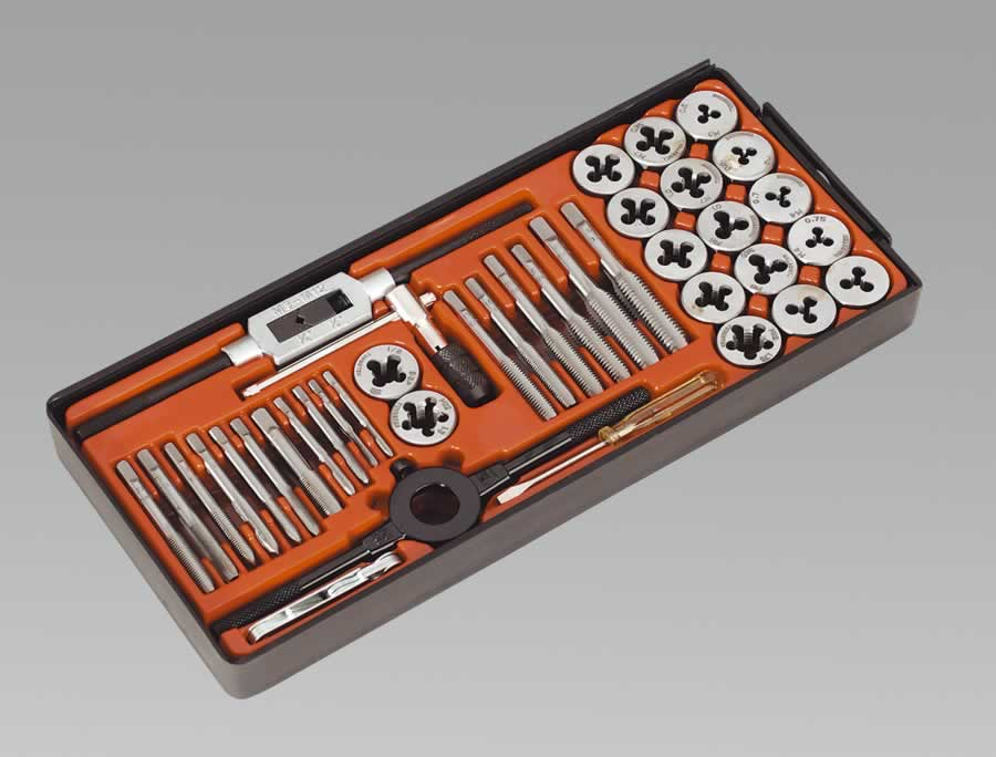 Tap & Die Set 40pc Metric