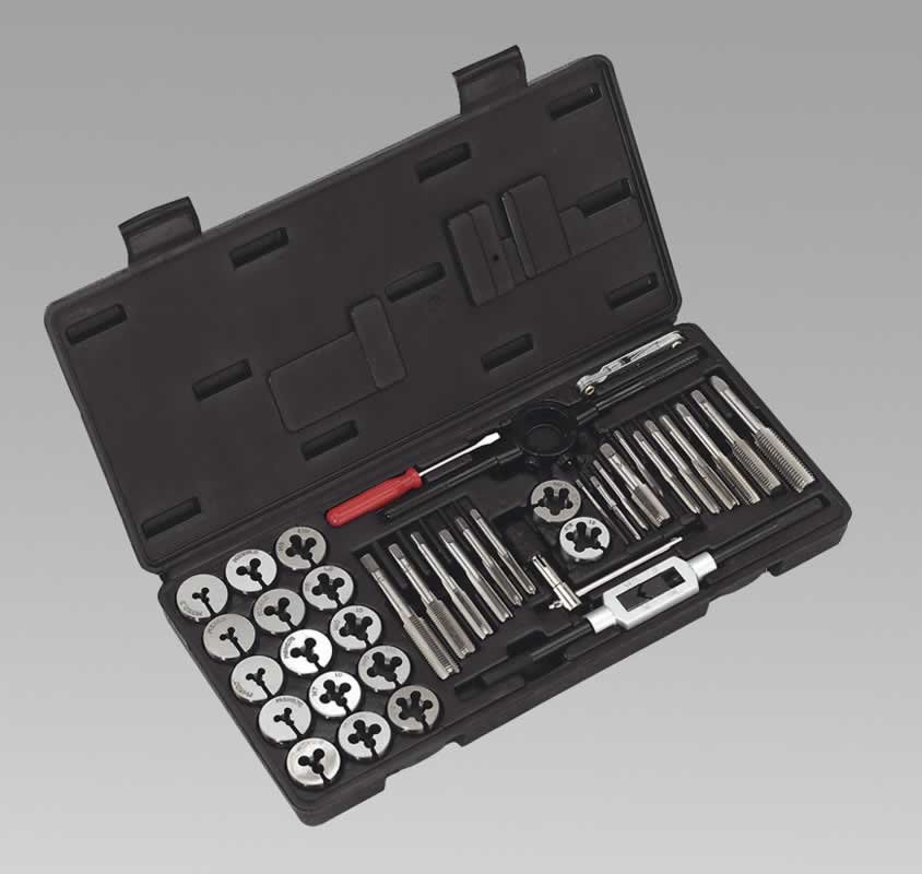 Tap  Die Set 40pc Split Dies Metric