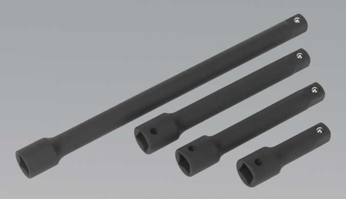 "Impact Extension Bar Set 4pc 1/2""Sq Drive"