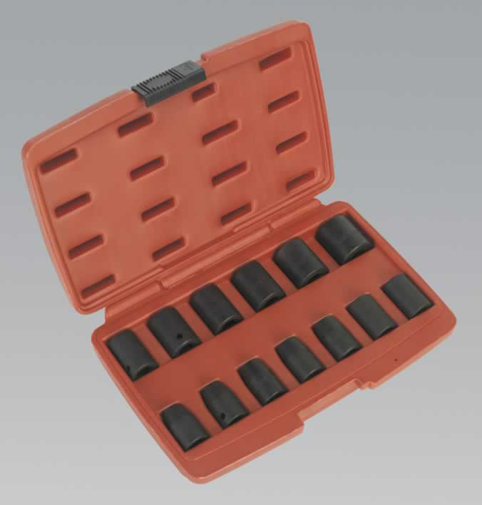 "Impact Socket Set 13pc 1/2""Sq Drive Metric"