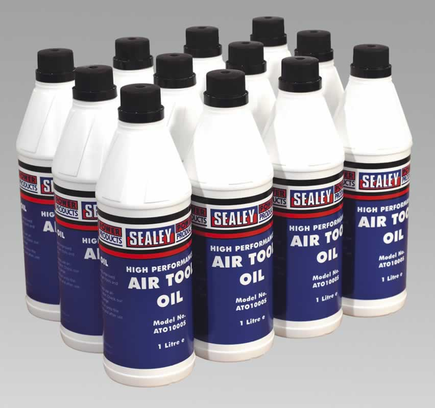 Air Tool Oil 1ltr Pack of 12