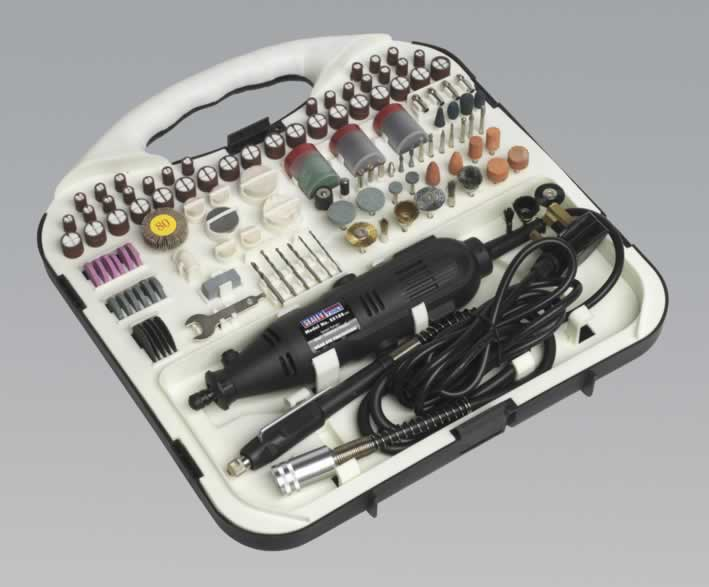 Multi-Purpose Rotary Tool & Engraver Set 183pc 230V