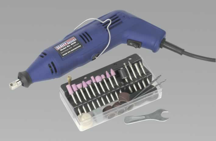 Multi-Purpose Rotary Tool & Engraver Set 40pc 230V