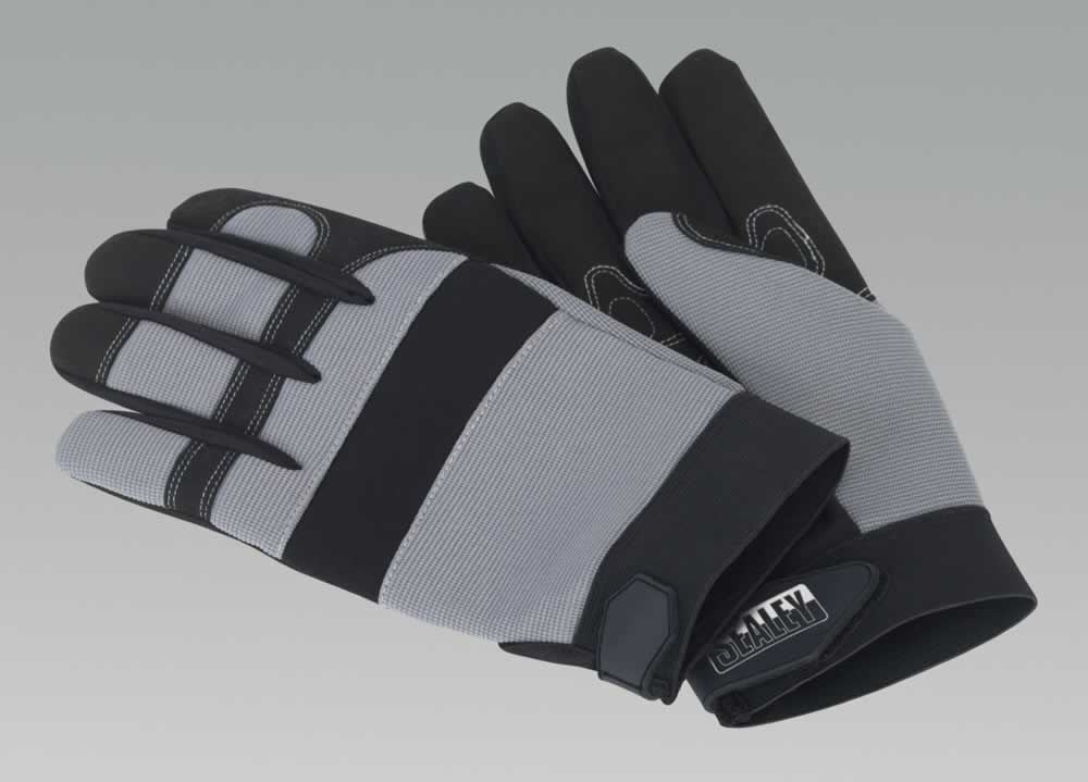 Mechanic's Gloves Padded Palm - Extra Large