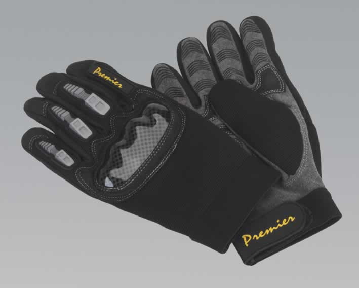 Mechanic's Gloves Anti-Collision - Large