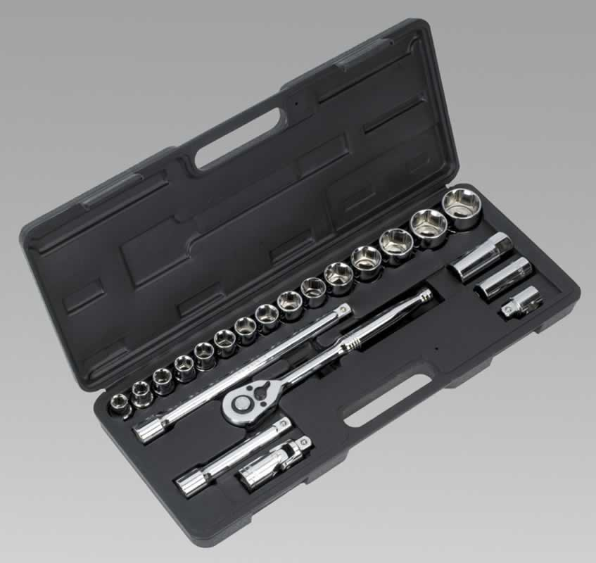 "Socket Set 22pc 1/2""Sq Drive Metric"