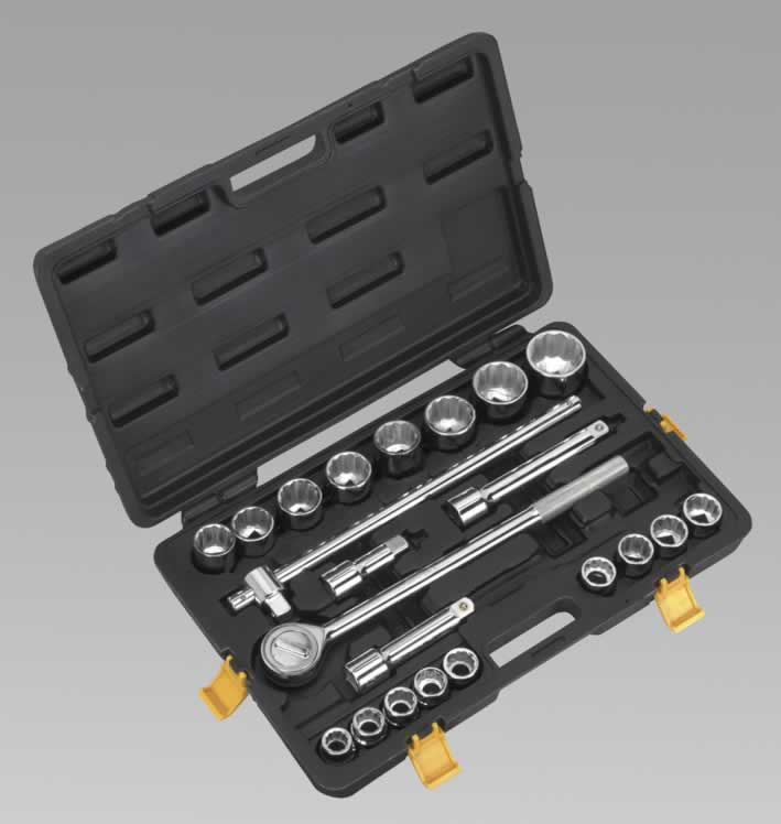 "Socket Set 22pc 3/4""Sq Drive Metric"